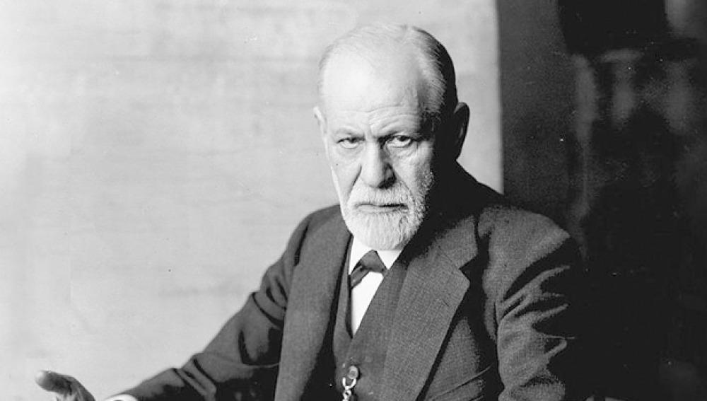 Retrato de Sigmund Freud, padre del psicoanálisis